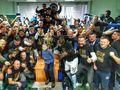 Le Dinamo Brest a décroché le premier titre de champion national de son histoire, photo: twitter.com/FC Dynamo Brest