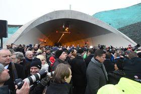 В ожидании торжественного открытия последнего участка магистрали D8, Фото: ЧТК