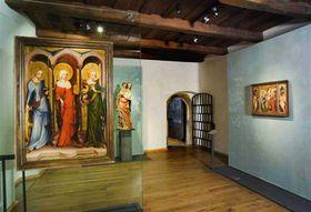 Exposición permanente del arte medieval de Bohemia y Europa Central