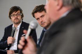Ian Willoughby, Filip Nerad, photo: Khalil Baalbaki / Czech Radio