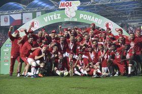 Slavia gewann die Partie mit 3:1 (Foto: ČTK)