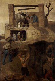 Hippolyt Soběslav Pinkas: Les travailleurs à Montmartre, photo: public domain