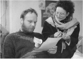 Властимил Ежек, Забастовочный комитет Философского факультета Карлова университета, 1989, фото: Войтех Лавичка, Post Bellum