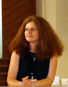 Lucie Slavíková-Boucher, photo: Milena Štráfeldová