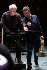 Daniel Barenboim und Radek Baborák (Foto: Radek Baborák & Horn Fest Praha)