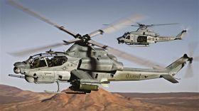 Les hélicoptères Viper et Venom, photo: Bell Helicopters