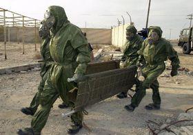 Солдаты подразделения противохимической обороны (Фото: ЧТК)