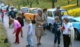 Botschaftsflüchtlinge 1989 (Foto: Tschechisches Fernsehen)