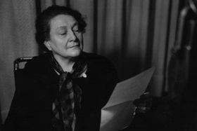 Františka Plamínková (Foto: Archiv des Tschechischen Rundfunks)