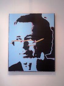 'Václav Havel' por Jacobo Blandón, foto: Ana Briceño