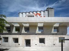 Administration building in Strančice, photo: archive of Czech Prize for Architecture
