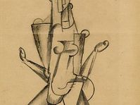 'The figure of the woman', 1913-14