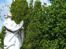 La Virgen María del Exilio, foto: Klára Stejskalová