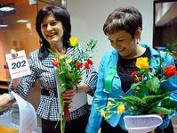 Olga Zubová (vlevo) a Věra Jakubková, foto: ČTK