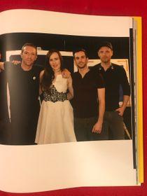Míla Fürstová y Coldplay