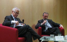 Salvador Albiñana y Pedro Moya