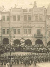 Nový Jičín 1918 (Foto: Archiv des Museums von Nový Jičín)