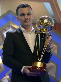 David Lafata, premiado como el Rey de los goleadores checos, foto: ČTK