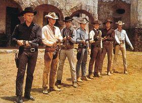 'Les sept mercenaires'