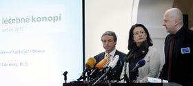 Pavel Bém, Miroslava Němcová, Tomáš Zábranský, photo: CTK