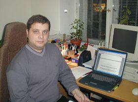 Ян Мишурец из цыганского интернет-радио «Рота»