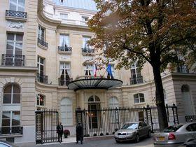 L'ambassade tchèque à Paris