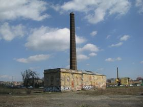 Здание бывшего машиностроительного завода Рустонка (Фото: Иржи Немец, Чешское радио - Радио Прага)