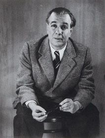 Jorge Luis Borges en 1951, foto: Grete Stern