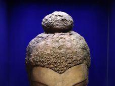 Голова Будды - один из экспонатов выставки буддийского периода афганской истории, Фото: ЧТК