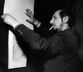 Карло Скарпа, фото: Mario De Biasi, открытый источник