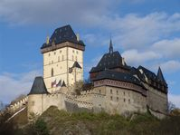Burg Karlštejn (Foto: Archiv Radio Prag)