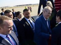 Miloš Zeman in China, photo: Twitter of Jiří Ovčáček / Prague Castle