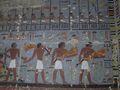 Antecámara decorada con escenas de Khuy, foto: Hana Vymazalová, Archivo del Instituto Checo de Egiptología
