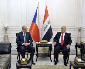 Bohuslav Sobotka y Haider Al-Abadi, foto: ČTK