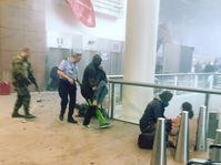 Terrorist attacks in Brussels, photo: CTK