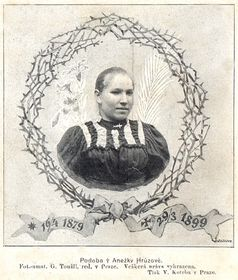 Le portrait supposé de Anežka Hrůzová