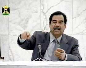 Saddam Hussein, foto: CTK