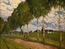 Богуслав Дворжак: «Аллея в Каменичках» (1904). Фото: Galerie Marold