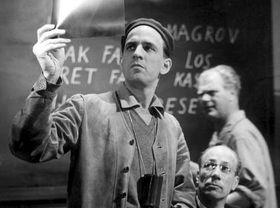 Ingmar Bergman, photo: Louis Hoch, public domain