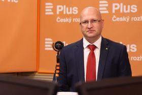 Martin Pýcha, foto: Jana Přinosilová, archiv ČRo