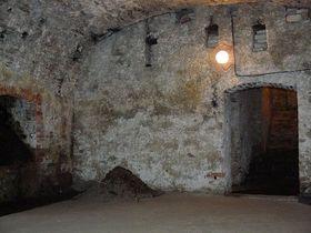 Подвальные помещения замка Фридлант, Фото: Томаш Маржас, Чешское радио