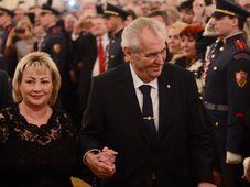 Miloš Zeman with his wife Ivana, photo: CTK