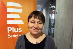 Anna Šabatová, photo: Jan Bartoněk, ČRo