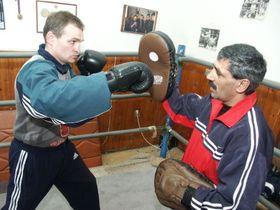 Le club de boxe dans le quartier pragois de Žižkov