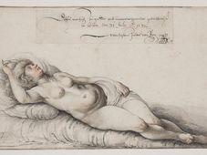 Вацлав Холлар: Ню молодой женщины, Архив Национальной галереи в Праге