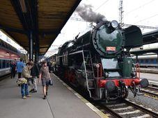 Prezidentský vlak, foto: Ondřej Tomšů
