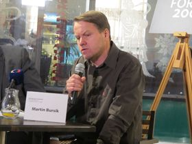 Мартин Бурсик, Фото: Мартина Шнайбергова, Чешское радио - Радио Прага