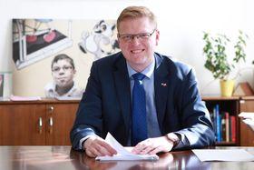 Павел Белобрадек - глава христианских демократов, фото: Филип Яндоурек, ЧРо