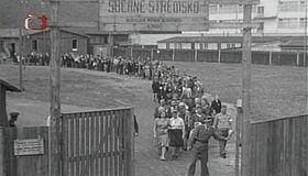 Lager für die deutschen Zivilisten (Foto: Tschechisches Fernsehen)
