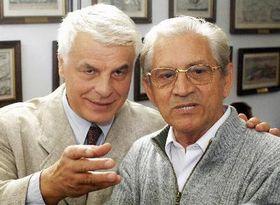 Michele Placido et Piro Milkani, photo: CTK